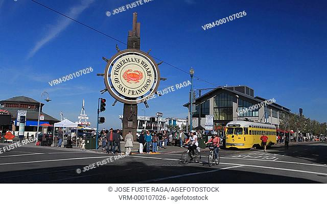 USA-California-San Francisco City-Fisherman's Wharf