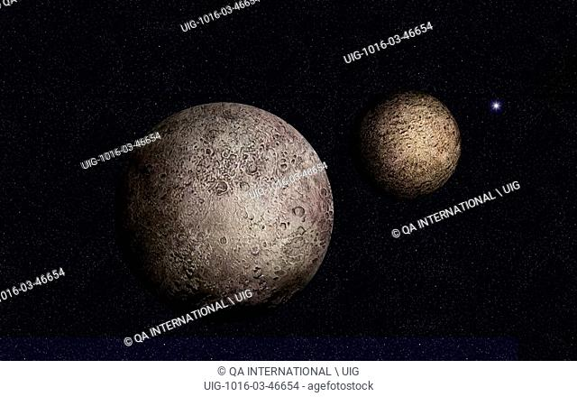 Discovered in 1930 by Clyde Tombaugh, Pluto is the only planet that has not been visited by a space probe. It is a strange planet