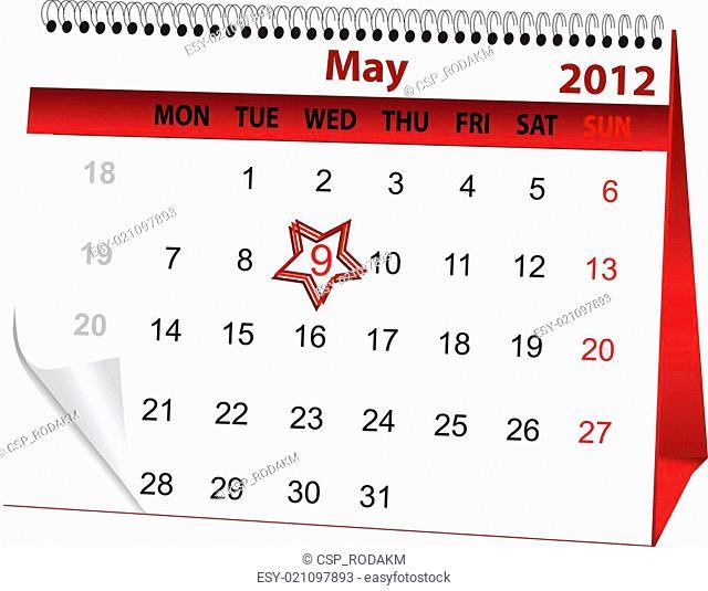 holiday calendar for 9 May