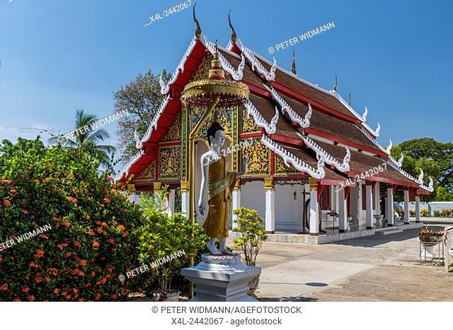 Wat Phra Kaew Don Tao Sucha Daram, Temple, Lampang, Northern Thailand, Thailand, Asia