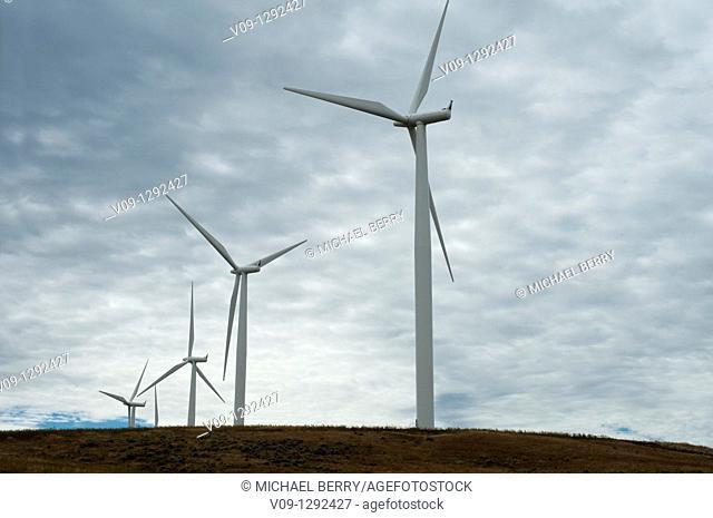 Wind turbines,  USA