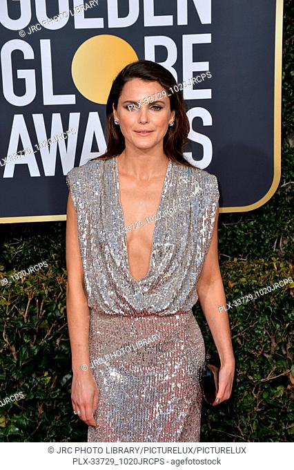 LOS ANGELES, CA. January 06, 2019: Keri Russell at the 2019 Golden Globe Awards at the Beverly Hilton Hotel. © 2019 JRC Photo Library/PictureLux ALL RIGHTS...