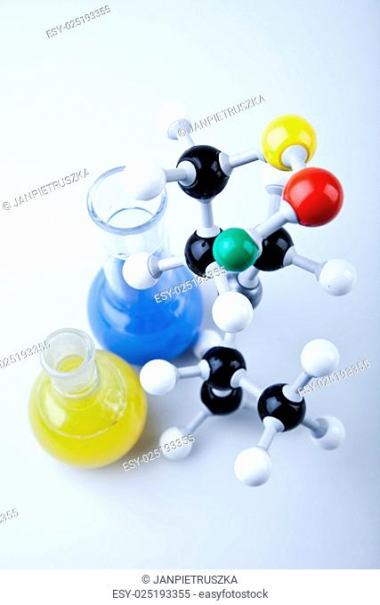 Molecular Model,atom, Laboratory glass