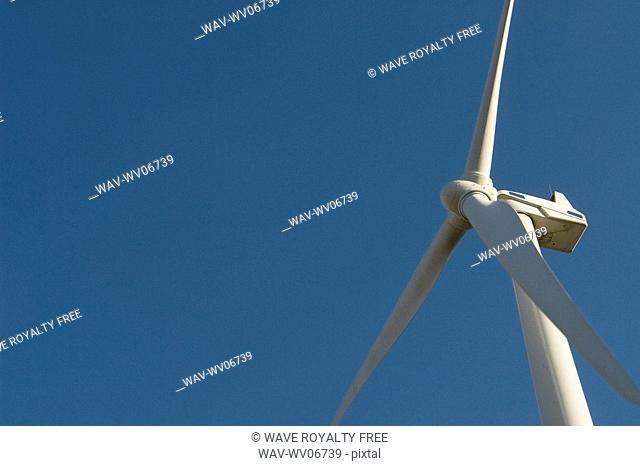 Array of wind turbines