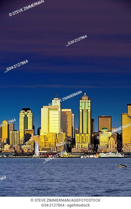 Seattle Skyline 1