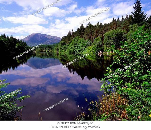Ben Vair From The Lochan Trail Walk, Glencoe