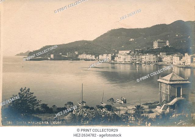 'Santa Margherita Ligure', c1910. Artist: Unknown