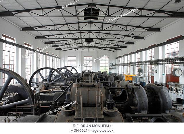 Maschinenhalle, Kompressoren