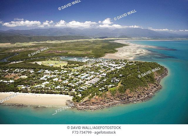 Port Douglas, near Cairns, North Queensland, Australia - aerial