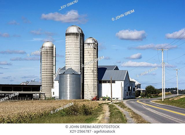 Farm, East Petersburg, Lancaster, Pennsylvania, USA