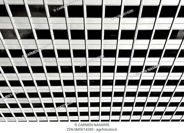 Windows in a building