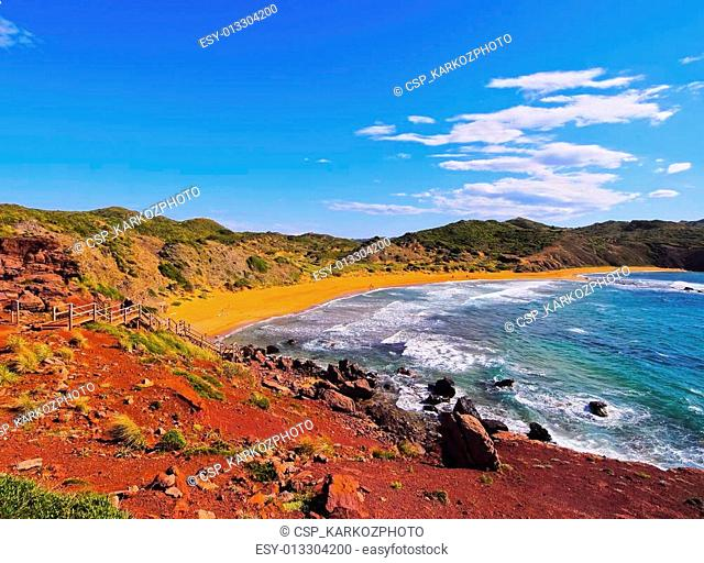 Cavalleria Beach on Minorca