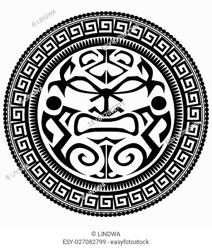 Polynesian Tattoo Design Stock Photos And Images