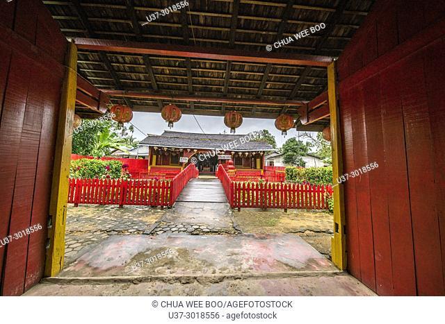 Lo Fong Pak temple in Sei Pinyuh, Pontianak, West Kalimantan, Indonesia