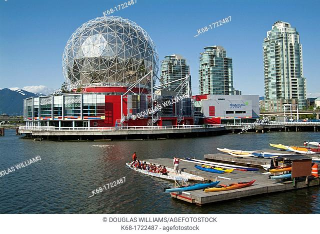 Telus World of Science, Vancouver, BC, Canada  The building was recently renovated