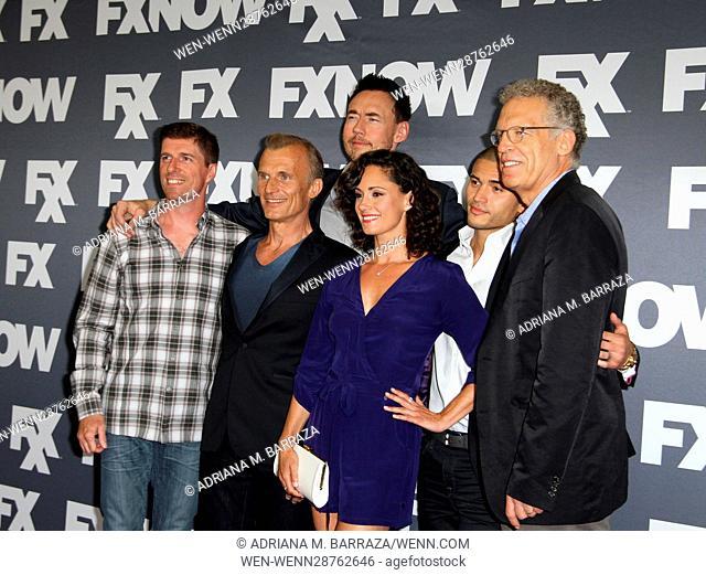 FX Networks TCA 2016 Summer Press Tour held at The Beverly Hilton Hotel Featuring: Chuck Hogan, Richard Sammel, Kevin Durand, Natalie Brown, Miguel Gomez