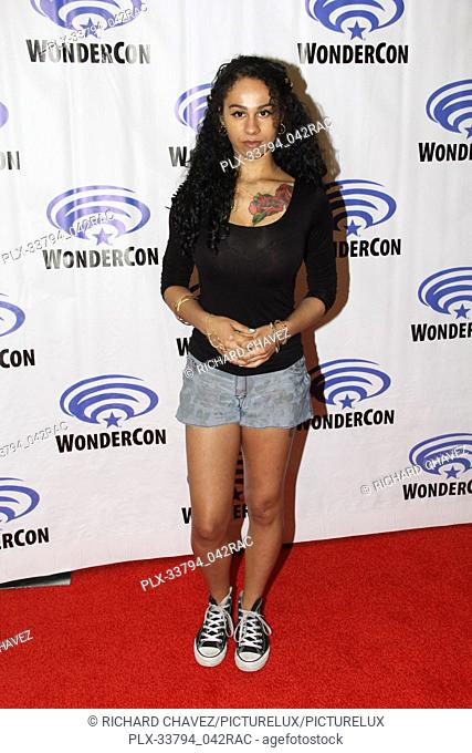 """Jahkara Smith promotes """"""""NOS4A2"""""""" at WonderCon 2019 on Day 2 held at The Anaheim Convention Center in Anaheim, CA on March 30, 2019"""