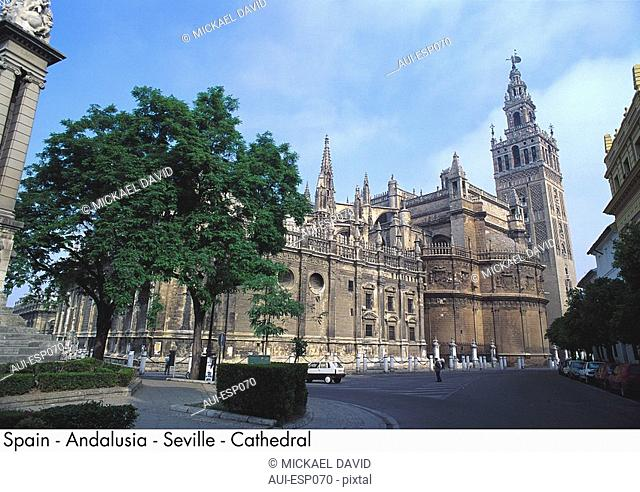 Spain - Andalusia - Seville - Cathedral