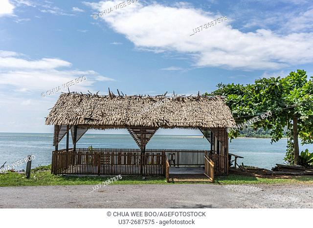 Sematan beach, Sarawak, Malaysia