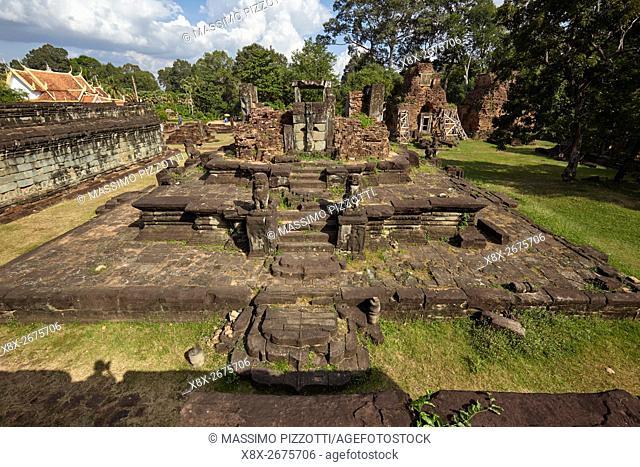Prasat Bakong temple, Siem Reap, Cambodia
