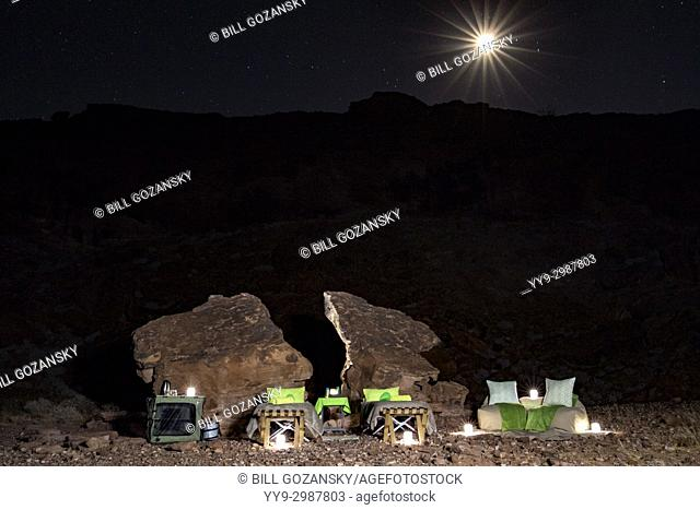 Sleep Out Experience at Huab Under Canvas, Damaraland, Namibia, Africa