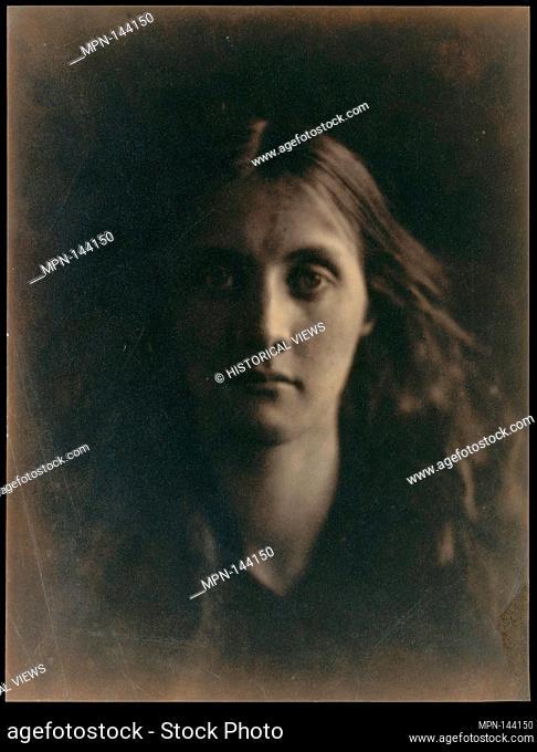 Julia Jackson. Artist: Julia Margaret Cameron (British (born India), Calcutta 1815-1879 Kalutara, Ceylon); Date: 1867; Medium: Albumen silver print from glass...