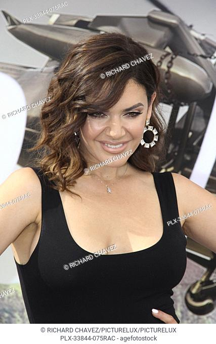 "Angelica Celaya at the Universal Pictures World Premiere of """"Fast & Furious Presents: Hobbs & Shaw"""". Held at the Dolby Theater in Hollywood, CA, July 13, 2019"