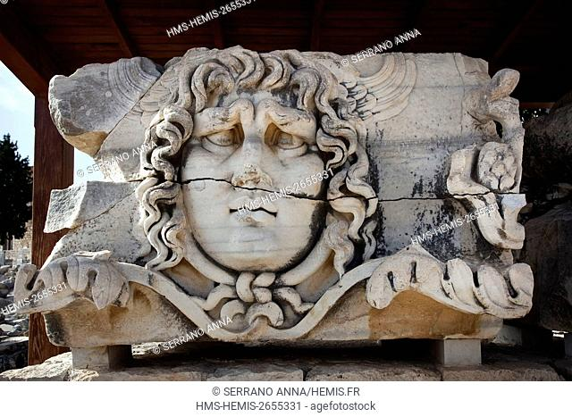 Turkey, Aegean Region, Izmir, Aydin Province, Didim, Didyma, its famous oracle of Apollo was mentioned by Homer