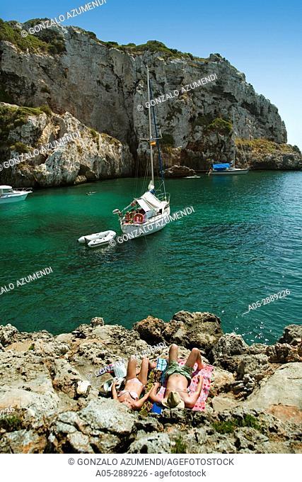 Coves. Minorca, Balearic Islands, Spain