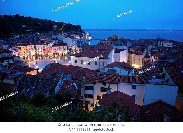 Gulf of Trieste. Piran, Slovenia