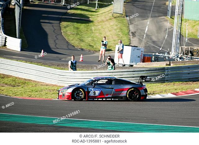 Audi R8 LMS, FIA GT3, Nuerburgring 24h race 2017, Eifel, Rhineland-Palatinate, Germany, Europe