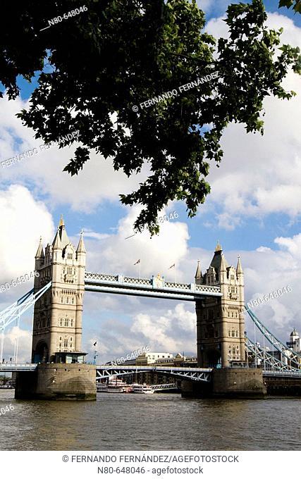 Tower Bridge, London. England, UK