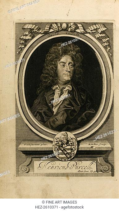 Portrait of the composer Henry Purcell (1659-1695), 1702. Artist: Closterman, John (1660-1711)
