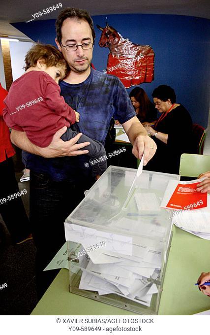 Elections to the Parlament de Catalunya, 01-nov-2006. Spain