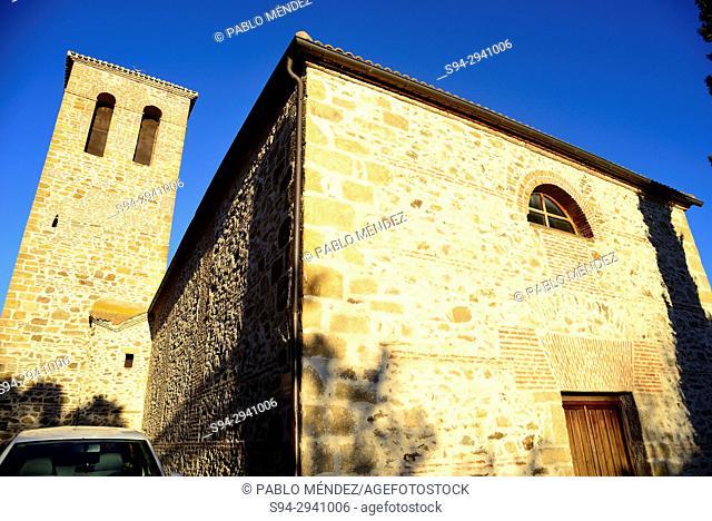 Church of San Pedro in Horcajo de la Sierra, Madrid, Spain