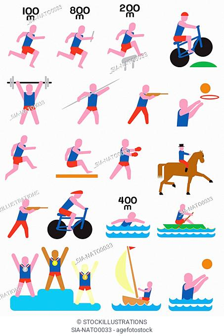 sport,variety,olympic games,choice