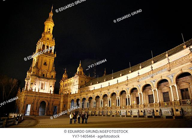 North Tower of the Square Spain Sevilla, Andalusia, Spain
