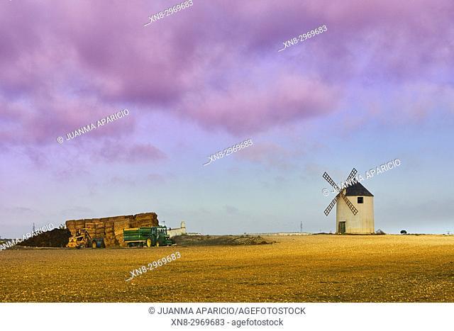 Windmill, Albacete, Castilla la Mancha, Spain, Europe
