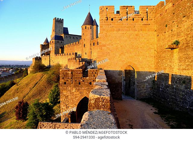 Fortified city of Carcassone, Languedoc-Rousillon, France