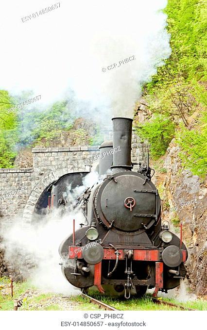 steam locomotive , Resavica, Serbia