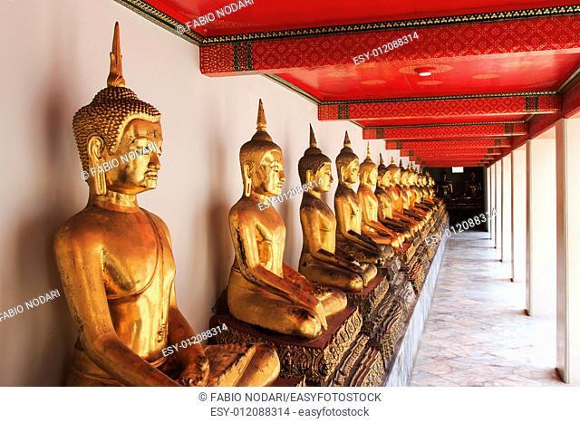 Buddha statue in Bangkok, Thailand