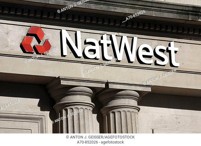 NatWest  Bank. London. England