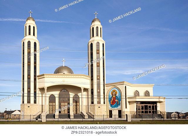 Church of Archangel Michael & St. Tekla Coptic Orthodox Church in Brampton, Ontario, Canada
