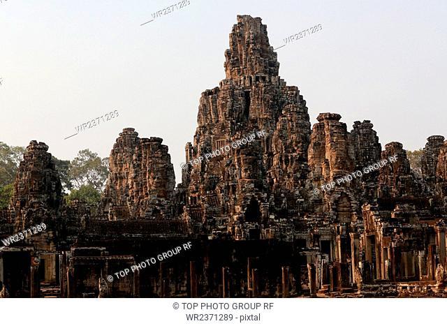 Southeast Asia Cambodia bayon