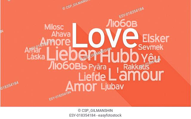 Passion word cloud Stock Photos and Images | age fotostock