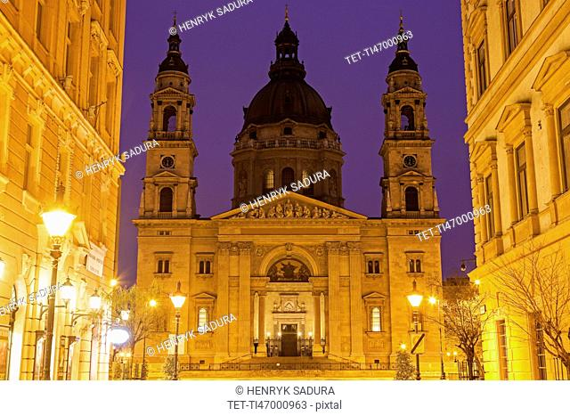 Facade of Saint Stephen's Basilica