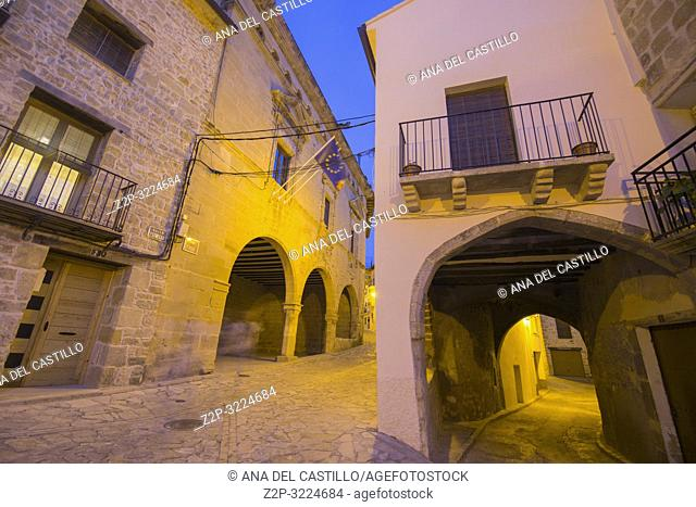 Torre del Compte is a medieval village in Matarrana county Aragon Spain