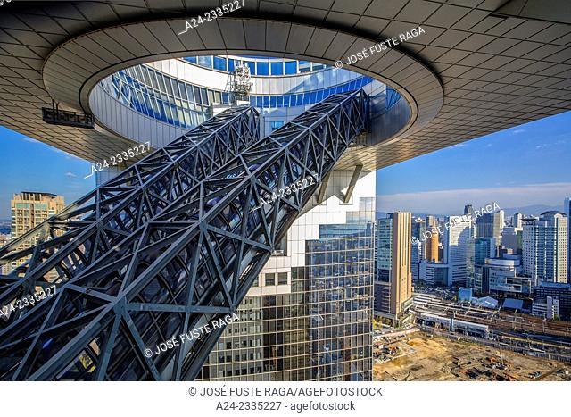 Japan , Kansai , Osaka City,Umeda Sky Bldg,