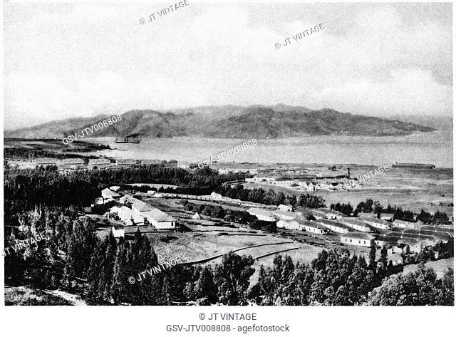 Presidio, San Francisco, landscape, historical