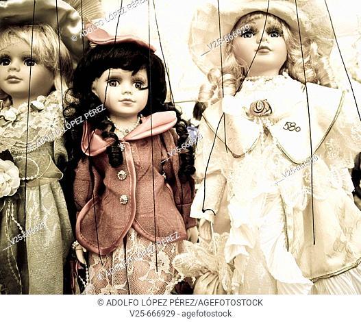 Puppets. Prague, Czech Republic